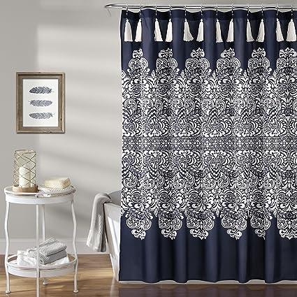 Lush Decor Boho Medallion Shower Curtain 72quot