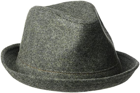 e2933d5a4115fc Goorin Bros. Men's The Barber Wool Blend Fedora Hat, Turquoise, X-Large