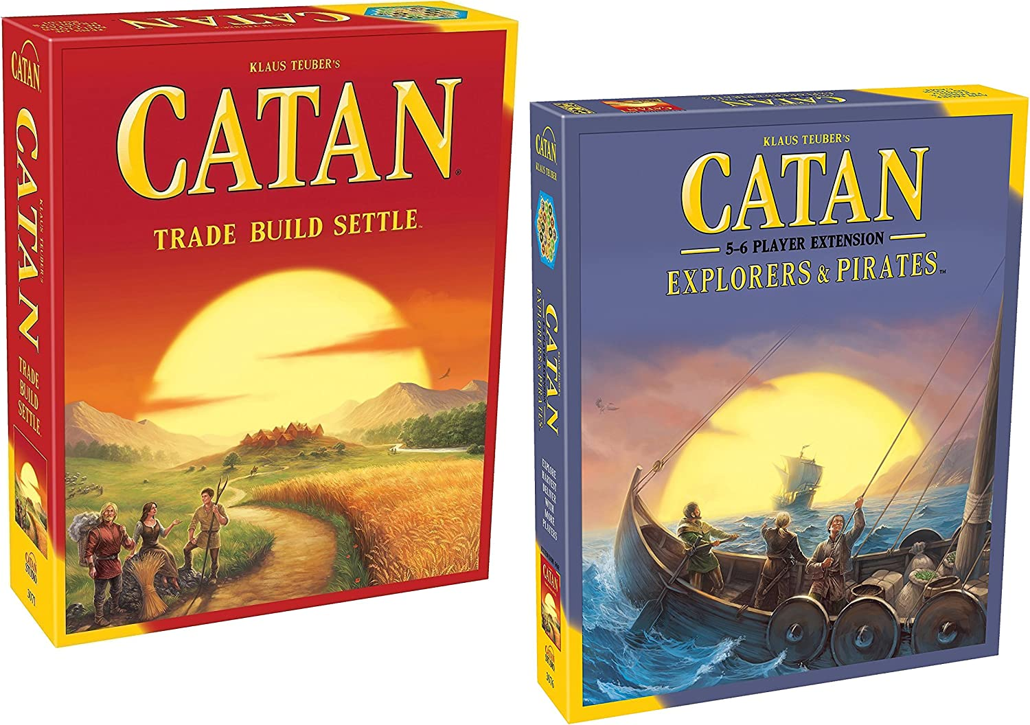 Catan 5ª edición con Catan: Explorers & Pirates 5-6 Player Extension 5th Edition: Amazon.es: Juguetes y juegos