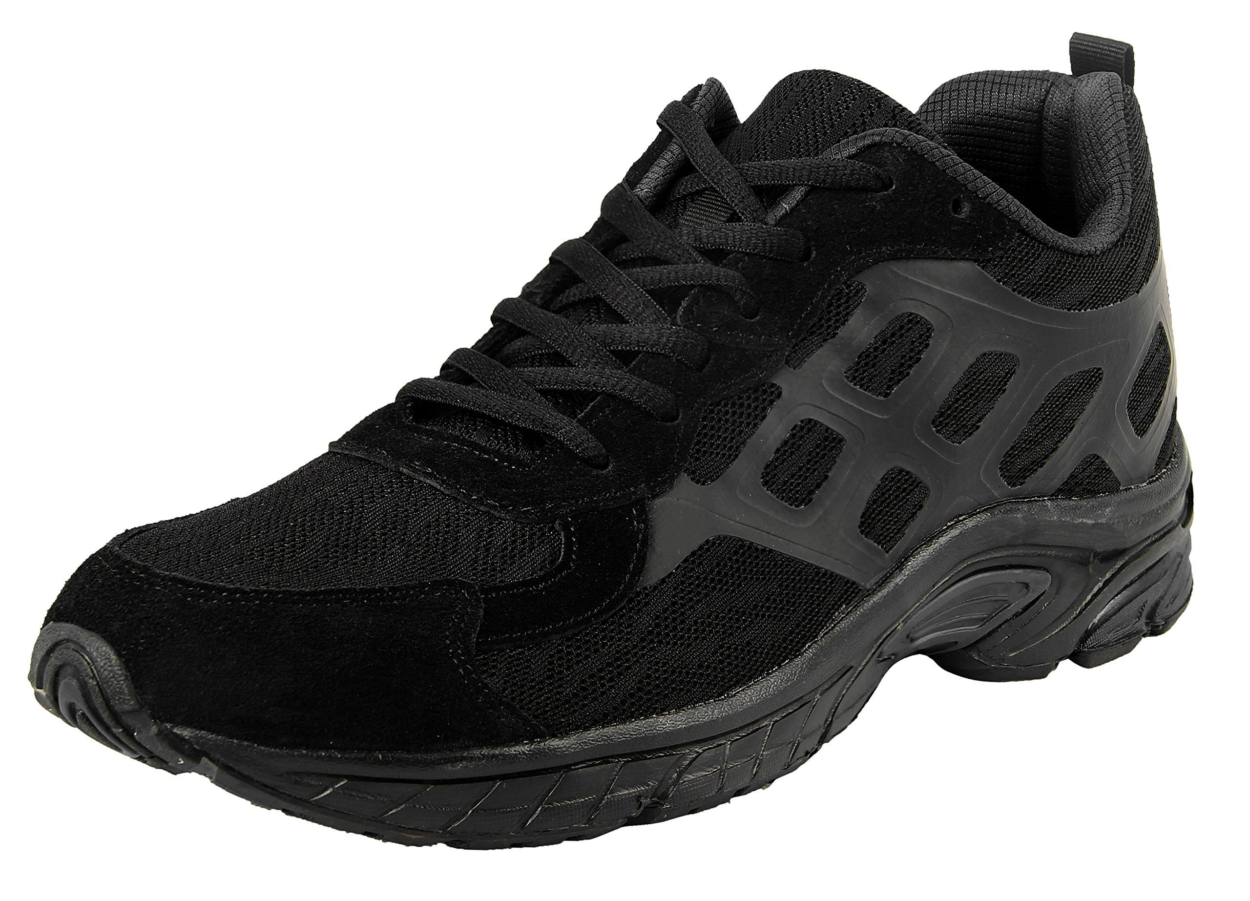 iLoveSIA Men's 4188 Leisure Sport Running Mesh Shoes Black US 7