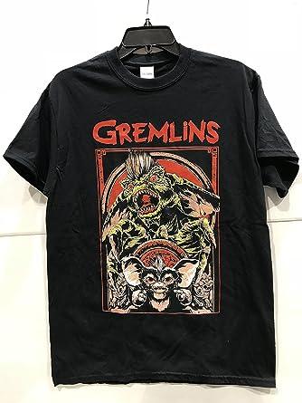 【グレムリン・GREMLINS】 大人・メンズ Tシャツ 『ストライプ・Lサイズ・