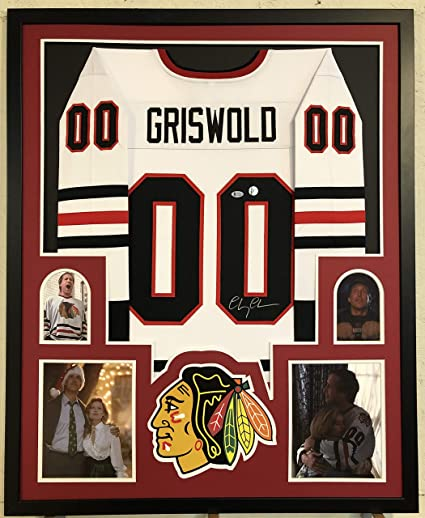 cheaper e7949 9ad79 Chevy Chase Autographed CLARK GRISWOLD Custom Framed Chicago ...