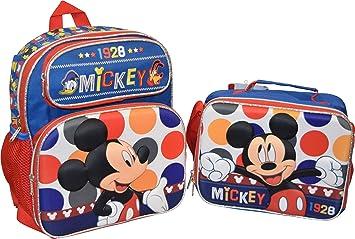 Pulgadas Lonchera Mickey Mouse Con De Disney Group Mochila 12 Ruz OkiPXuwTZ