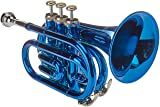 Merano B003S1BBFQ Blue Pocket Trumpet