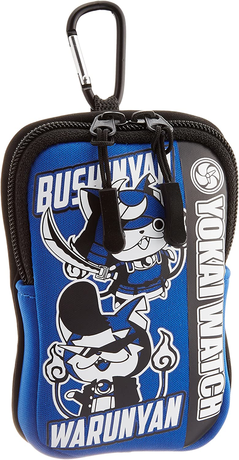 Yokai Watch carabiner pouch Blue Square by Bandai: Amazon.es: Deportes y aire libre