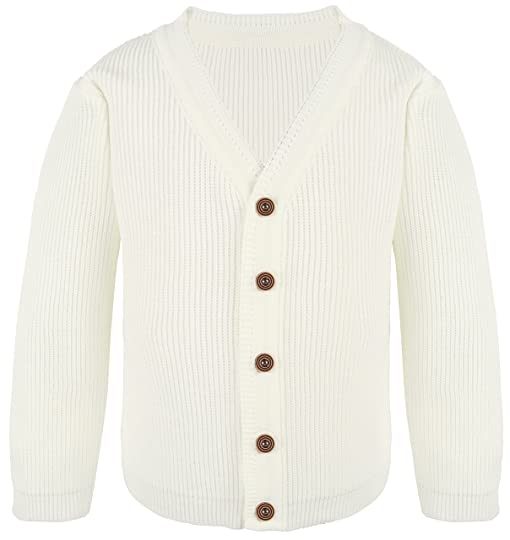 Amazon.com: Lilax Little Boys Basic Long Sleeve V-Neck Classic ...