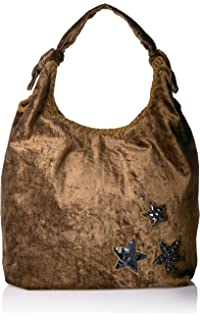 13410771e0b0 Amazon.com  Steve Madden Womens Bcomfyy Faux Leather Studded Hobo ...