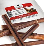 Chapo's Choice Bully Sticks for Dogs, 6-Inch, 6 per Bag
