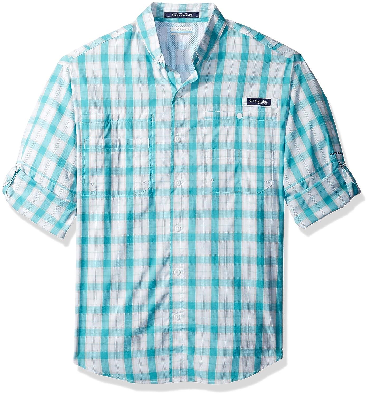 9a3c8ac1ce1 Amazon.com   Columbia Men s Super Tamiami Long Sleeve Shirt   Athletic  Shirts   Clothing