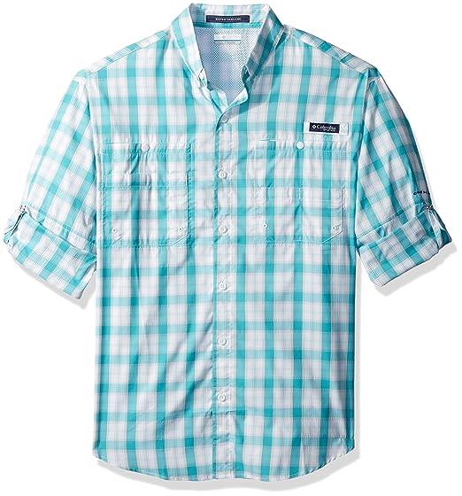 2dedba60ad1 Columbia Men's Super Tamiami Long Sleeve Shirt, Miami Plaid, X-Large