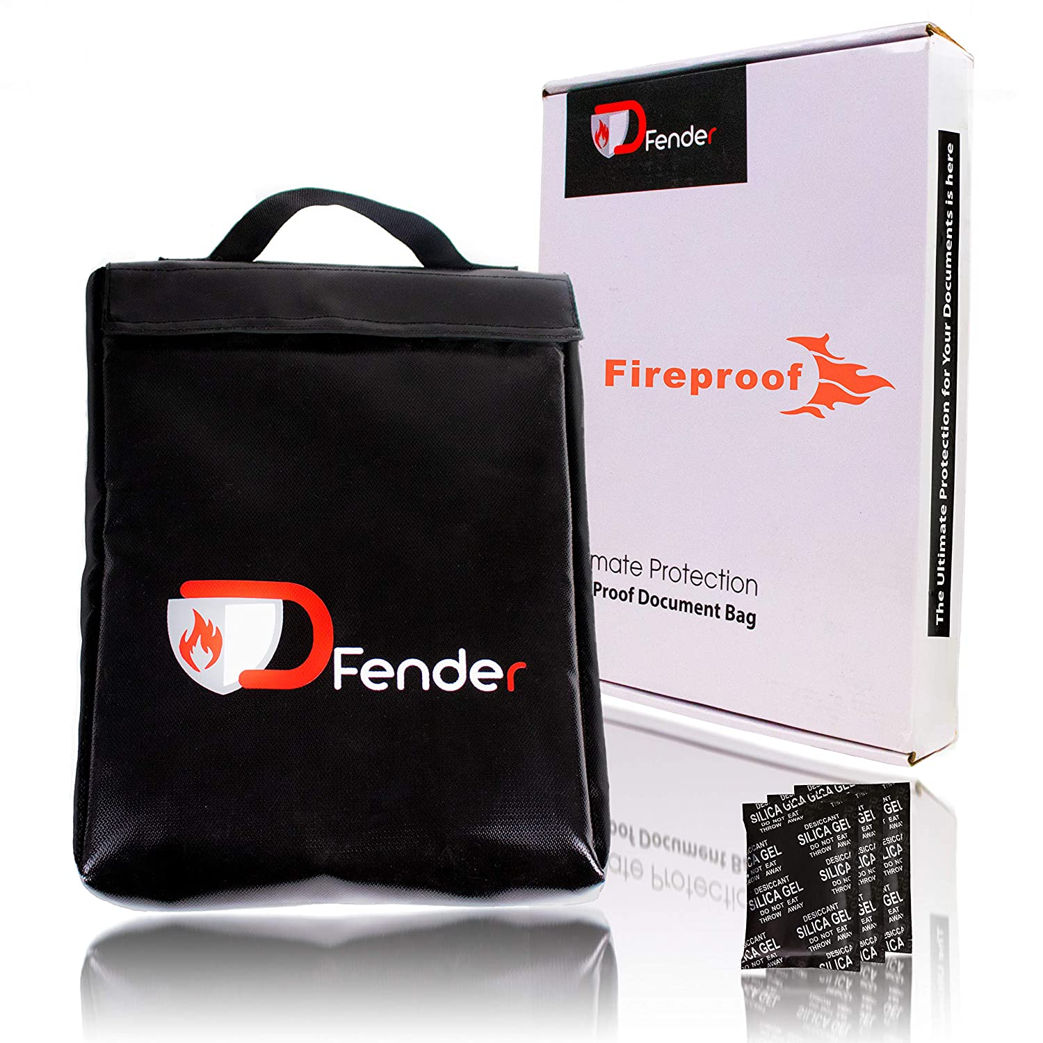 c0adf37580bd DOCFENDER Fireproof Document Bag - Be Safe Today with Large ...