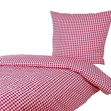 Amazonde Hans Textil Shop Bettwäsche 155x220 80x80 Cm Karo 1x1 Cm