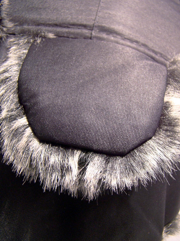 Colore: Cachi Invernale Cappello Modello Colbacco Raintopia Impermeabile Caldo Unisex Colore: Nero o Colori Bordo in Finta Pelliccia