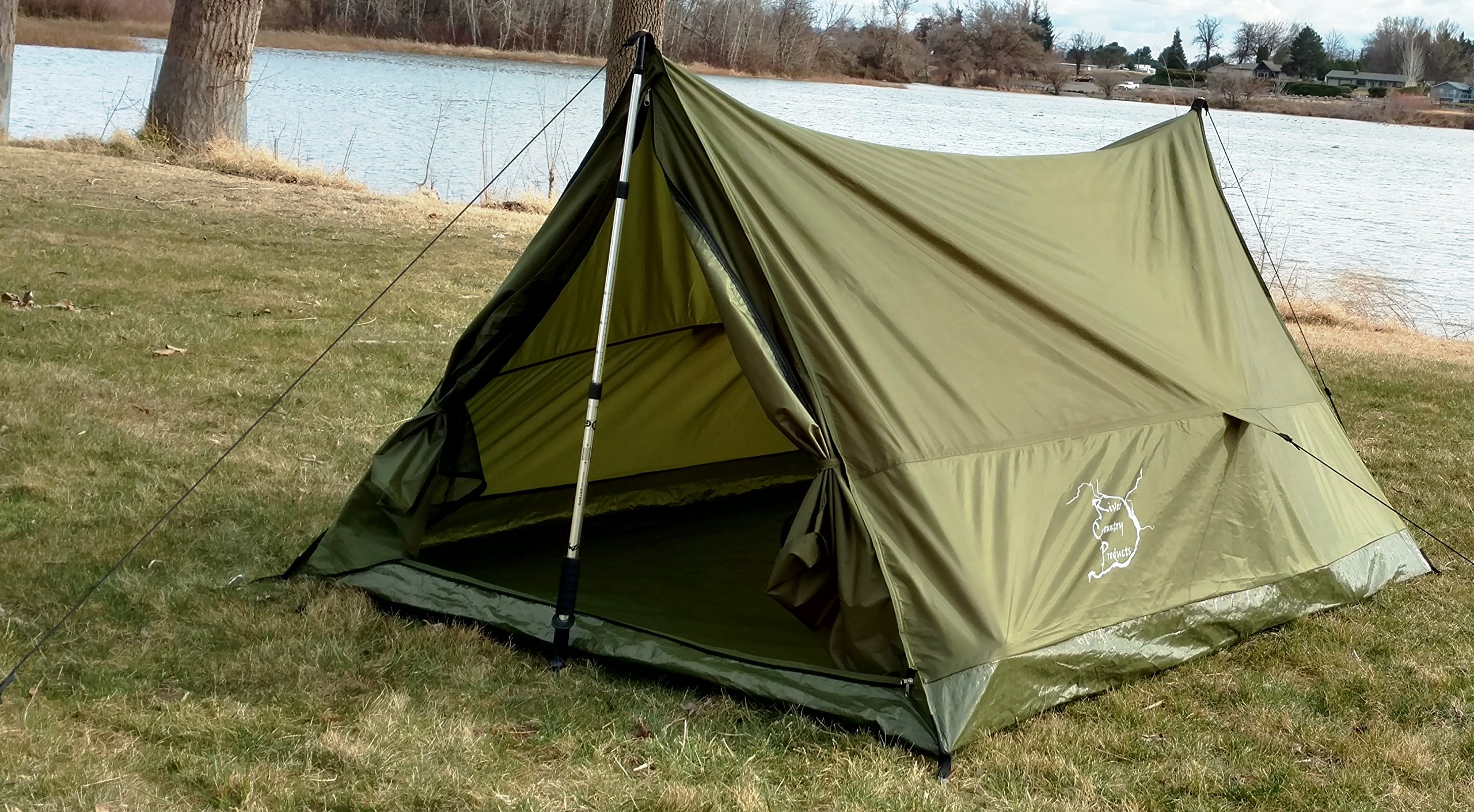 Ultralight Backpacking Tent 2 Person All Weather Tent