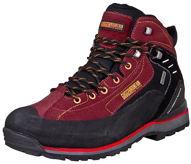 GUGGEN MOUNTAIN PM020 Botas de Trekking y Senderismo para Hombres Mujeres Gamuza: Amazon.es: Zapatos y complementos