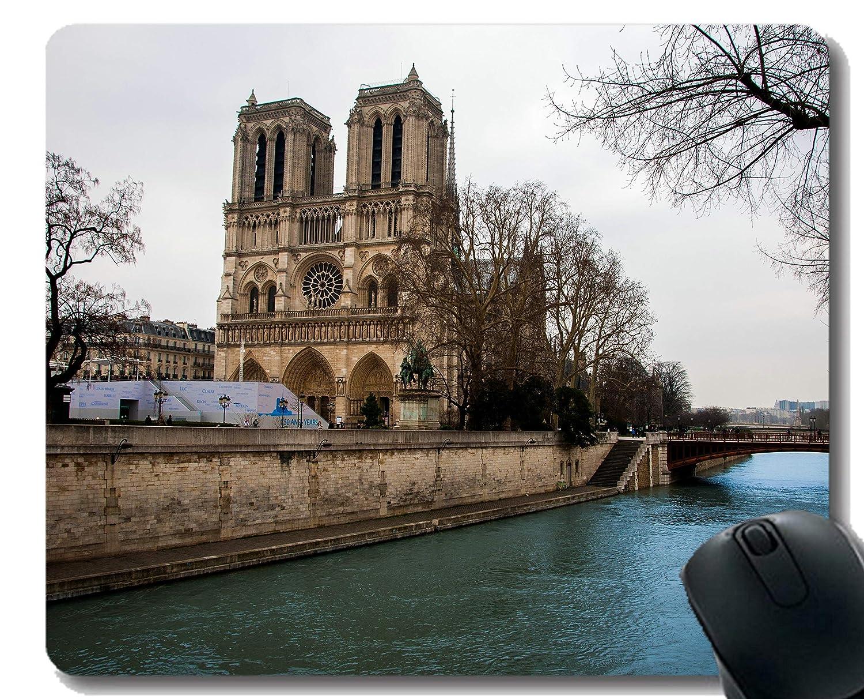 Yanteng Cojín de ratón del rectángulo, Notre Dame Edificio ...
