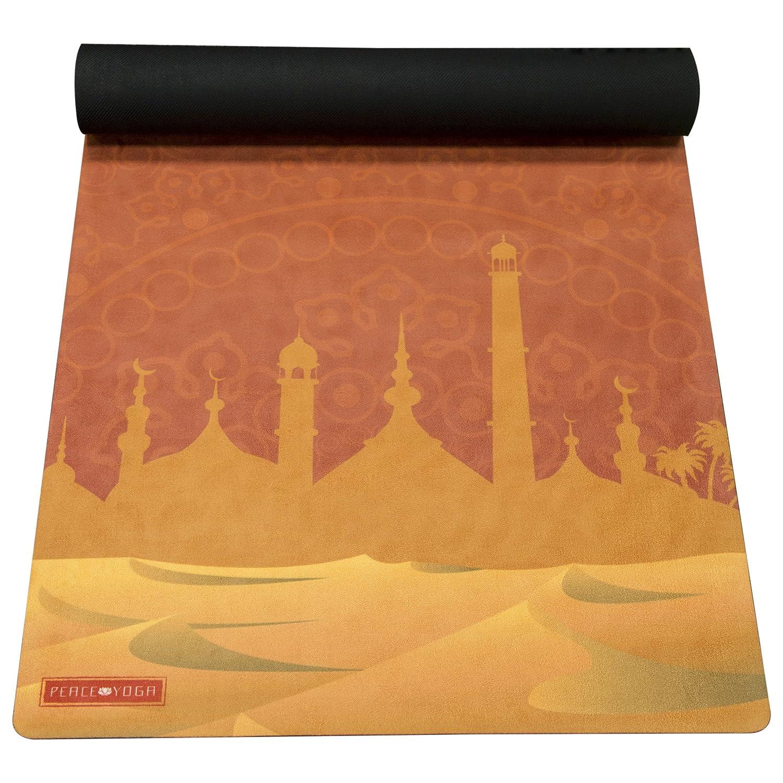 Peace Yoga Microfiber Top Hot Yoga Mat
