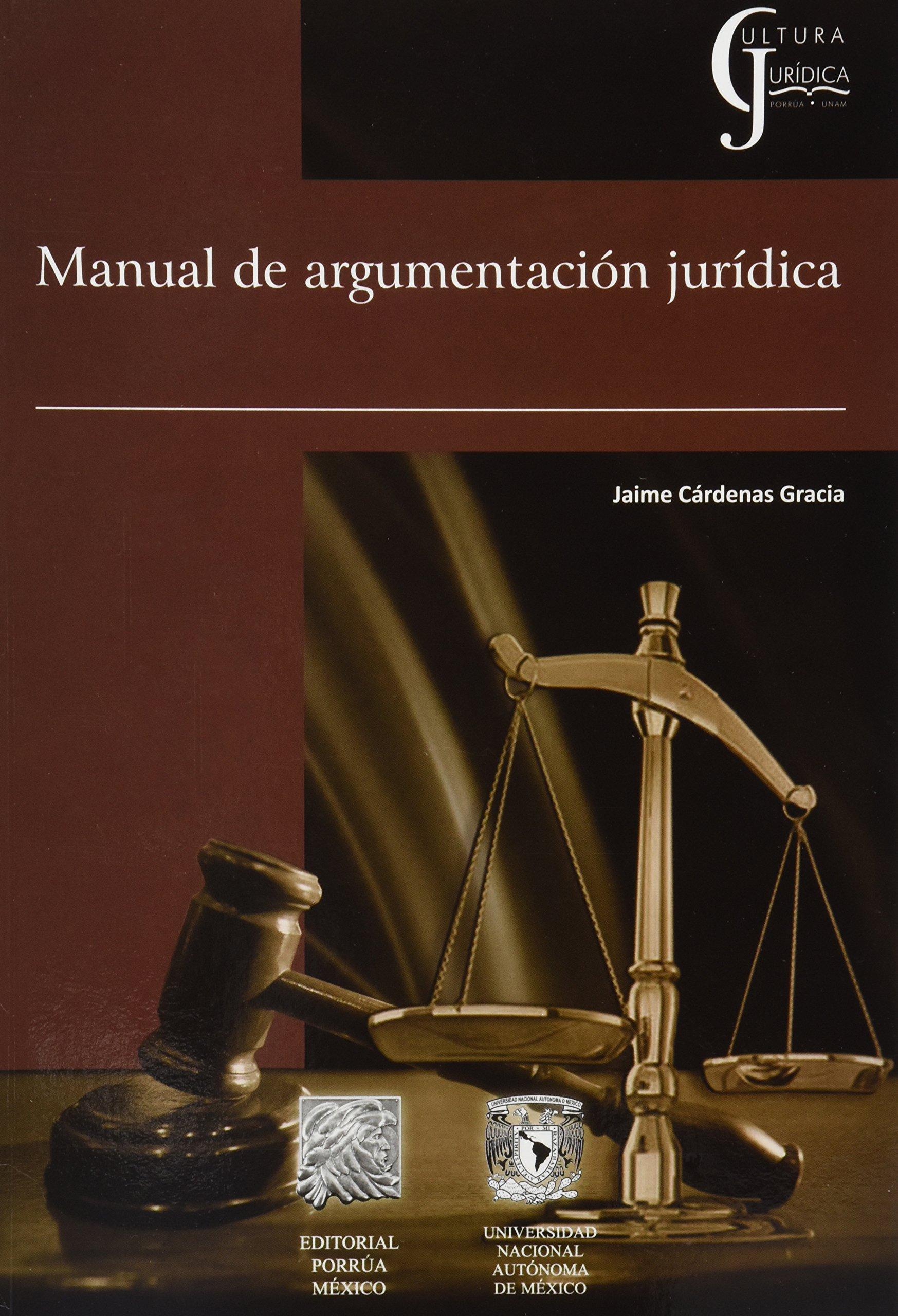 MANUAL DE ARGUMENTACION JURIDICA (Spanish) Paperback – 2014