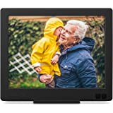 Nixplay Edge 8-Inch Wi-Fi Cloud Digital Photo Frame with Hi-Res Display