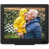 nixplay edge 8 inch wi fi cloud digital photo frame with hi res