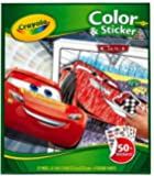 Crayola Cars 3 Colour and Sticker Book
