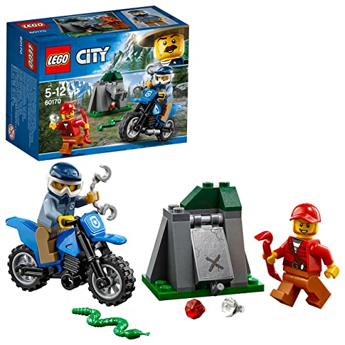 LEGO UK 60170 City Mountain Police Off-Road Chase Building Toy