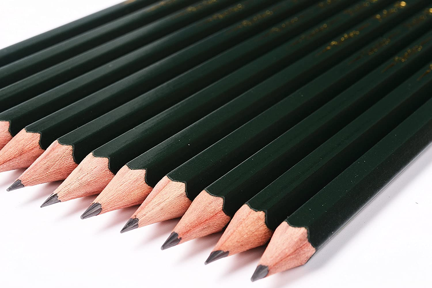 Pasler Professional Graphic Sketching Drawing Pencils 12 Count (6B)