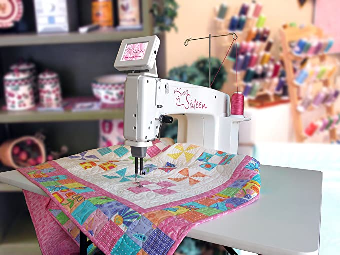 Amazon Handi Quilter Sweet Sixteen SitDown Longarm Quilting Awesome Hq Sweet 16 Sewing Machine