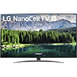 "LG Nano 8 Series 75SM8670PUA TV, 75"" 4K UHD Smart LED NanoCell, 2019 model"
