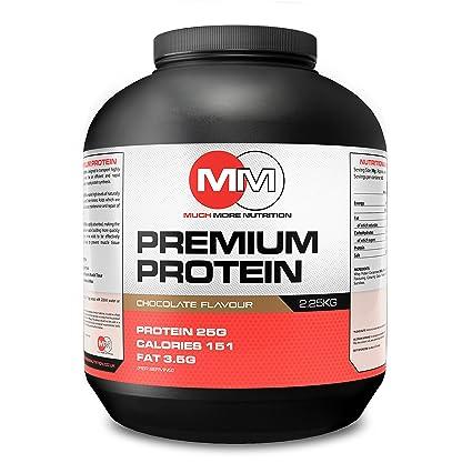 mmn Whey Premium Protein removedor de chocolate desarrollo muscular y recuperación Shake Powder 2.25 kg