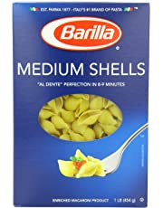 Barilla Pasta, Medium Shells, 16 Ounce