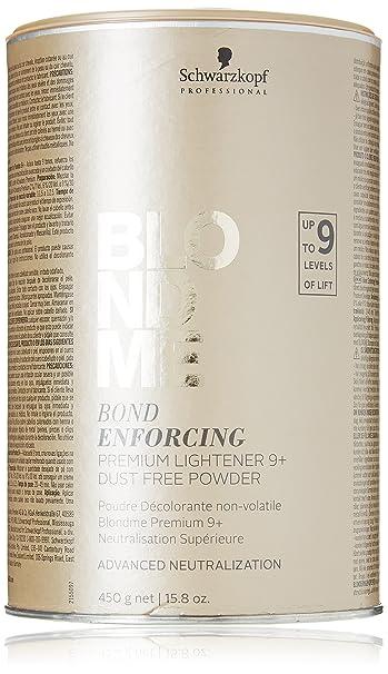 Amazoncom Schwarzkopf Professional Blond Me Premium Lift 9 158