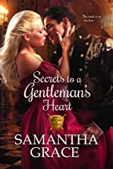 Secrets to a Gentleman's Heart (Gentlemen of Intrigue Book 1) Kindle Edition