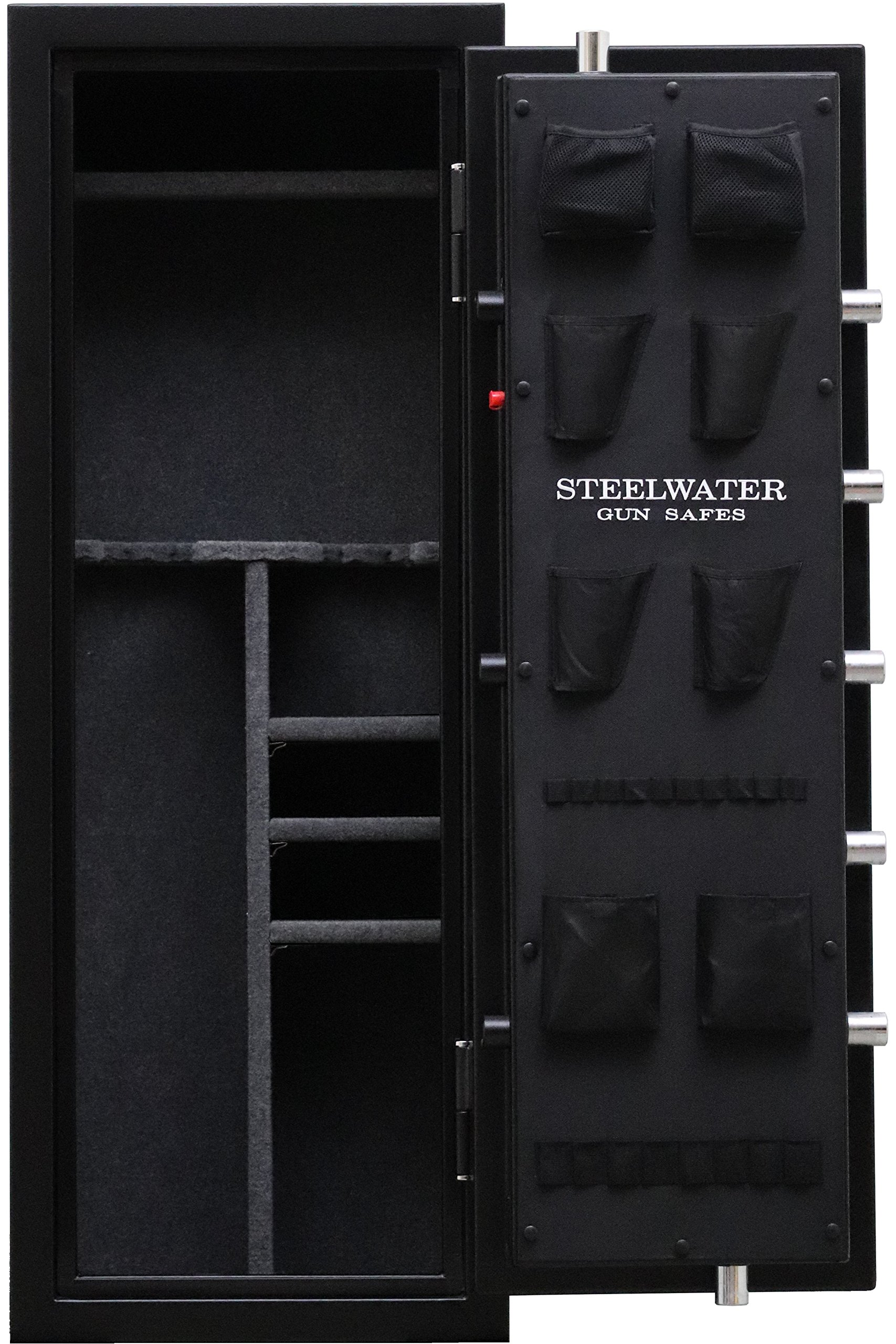 New and Improved Steelwater Standard Duty 16 Long Gun Fire Protection for 60 Minutes AMEGS592216-BLK by Steelwater Gun Safes (Image #2)