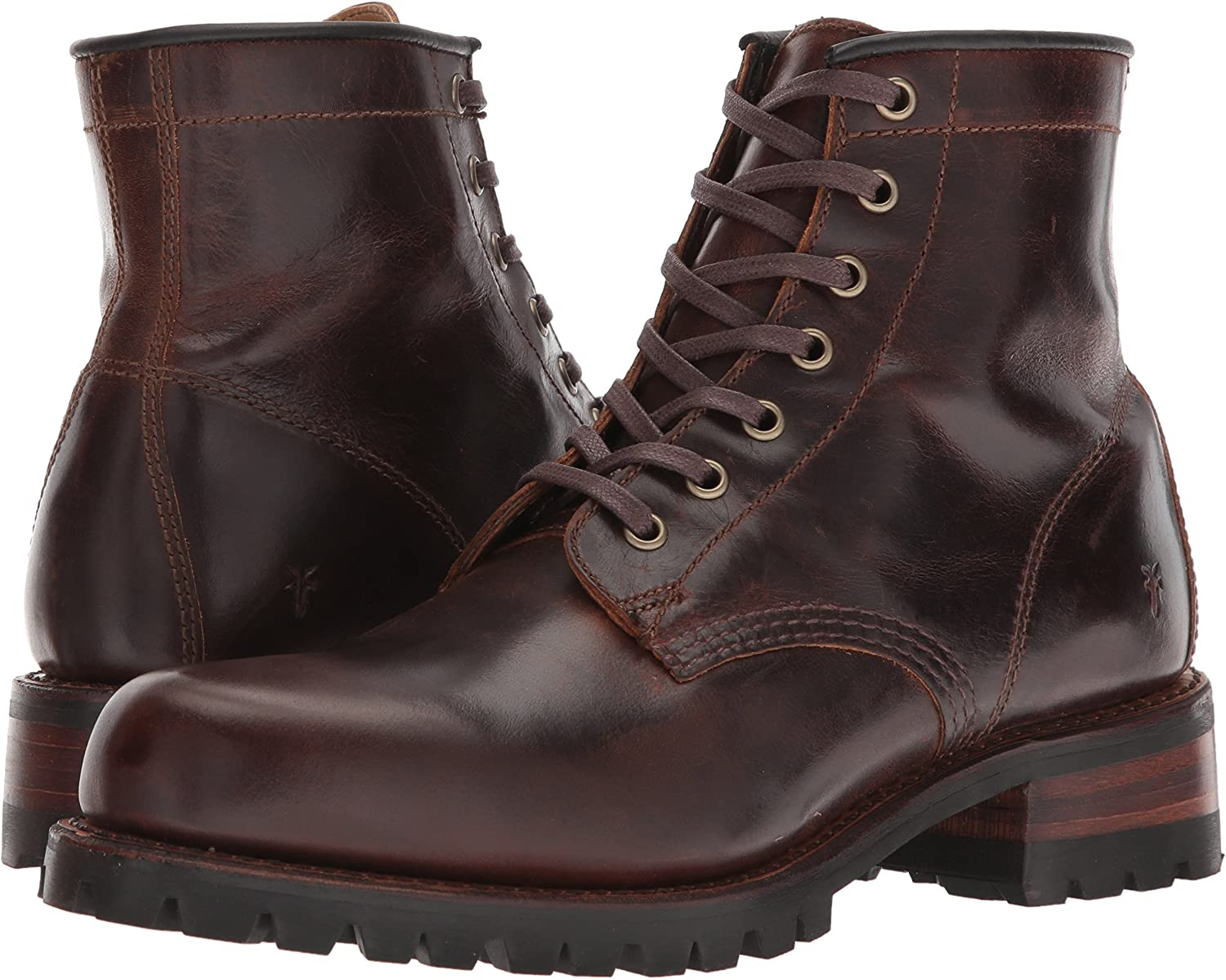 Frye Mens Addison Lug Lace Up Ankle Bootie
