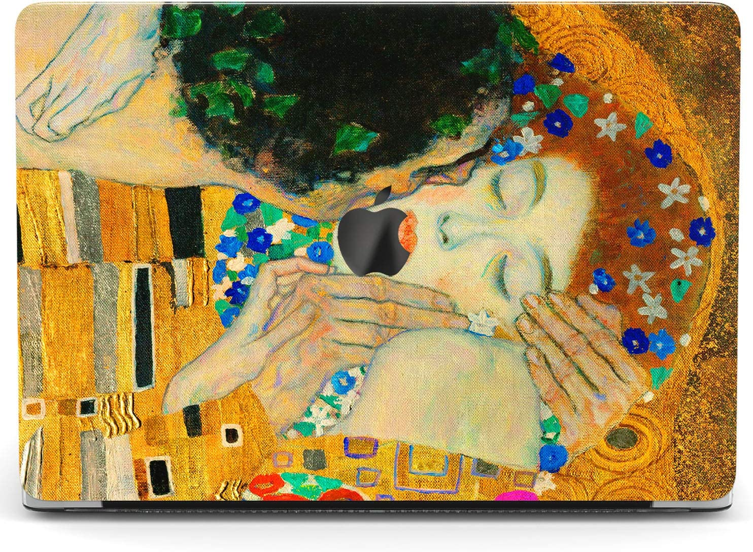 Wonder Wild Case for MacBook Air 13 inch Pro 15 2019 2018 Retina 12 11 Apple Hard Mac Protective Cover Touch Bar 2017 2016 2020 Plastic Laptop Print The Kiss Art Gustav Klimt Love Her Him Painting