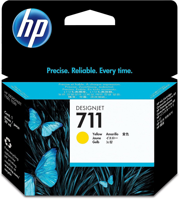 HP CZ130A 711 Cartucho de Tinta Original, 1 unidad, cian: Hp: Amazon.es: Oficina y papelería