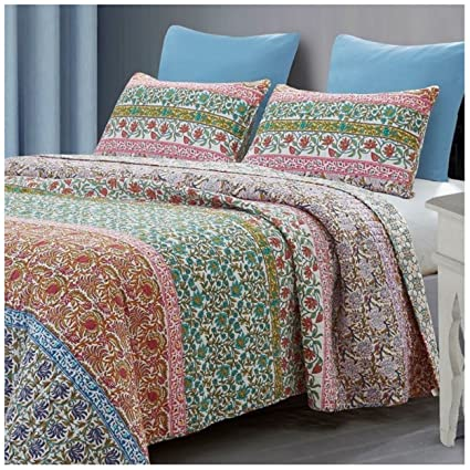ddb888d28cf Amazon.com  Baxi Reversible Quilt Set