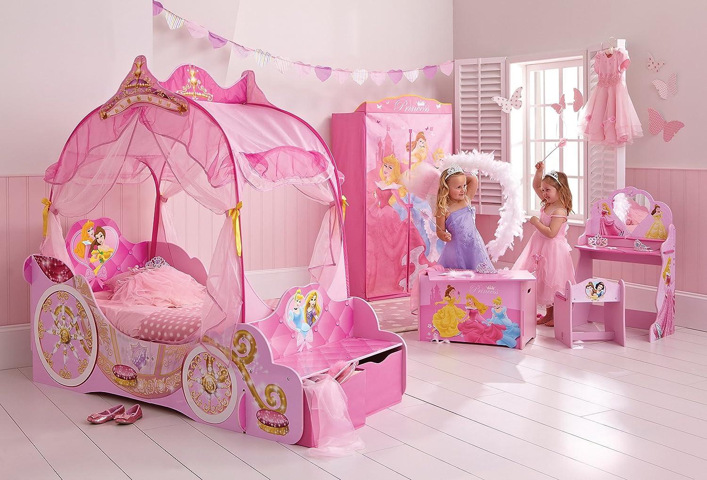 Letto Carrozza Disney : Letto bambino carrozza 70 x 140 principessa disney colori rosa