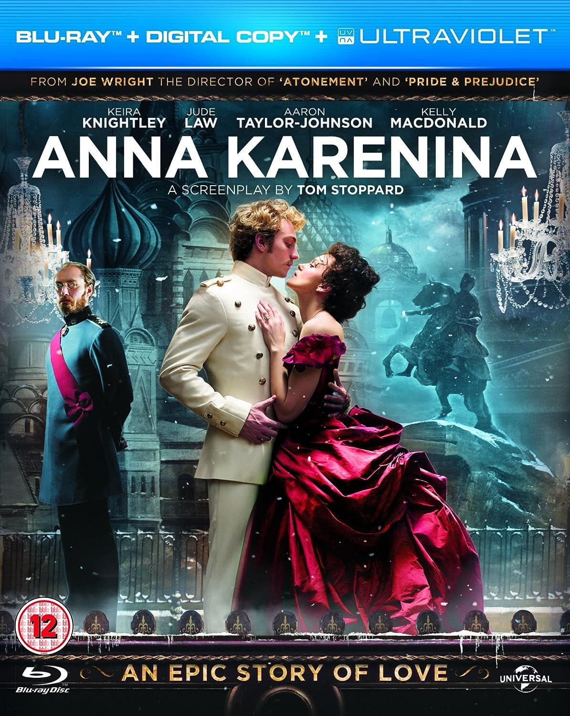 Anna Karenina (Blu-ray + Digital Copy + UV Copy) [2012] [Region Free]