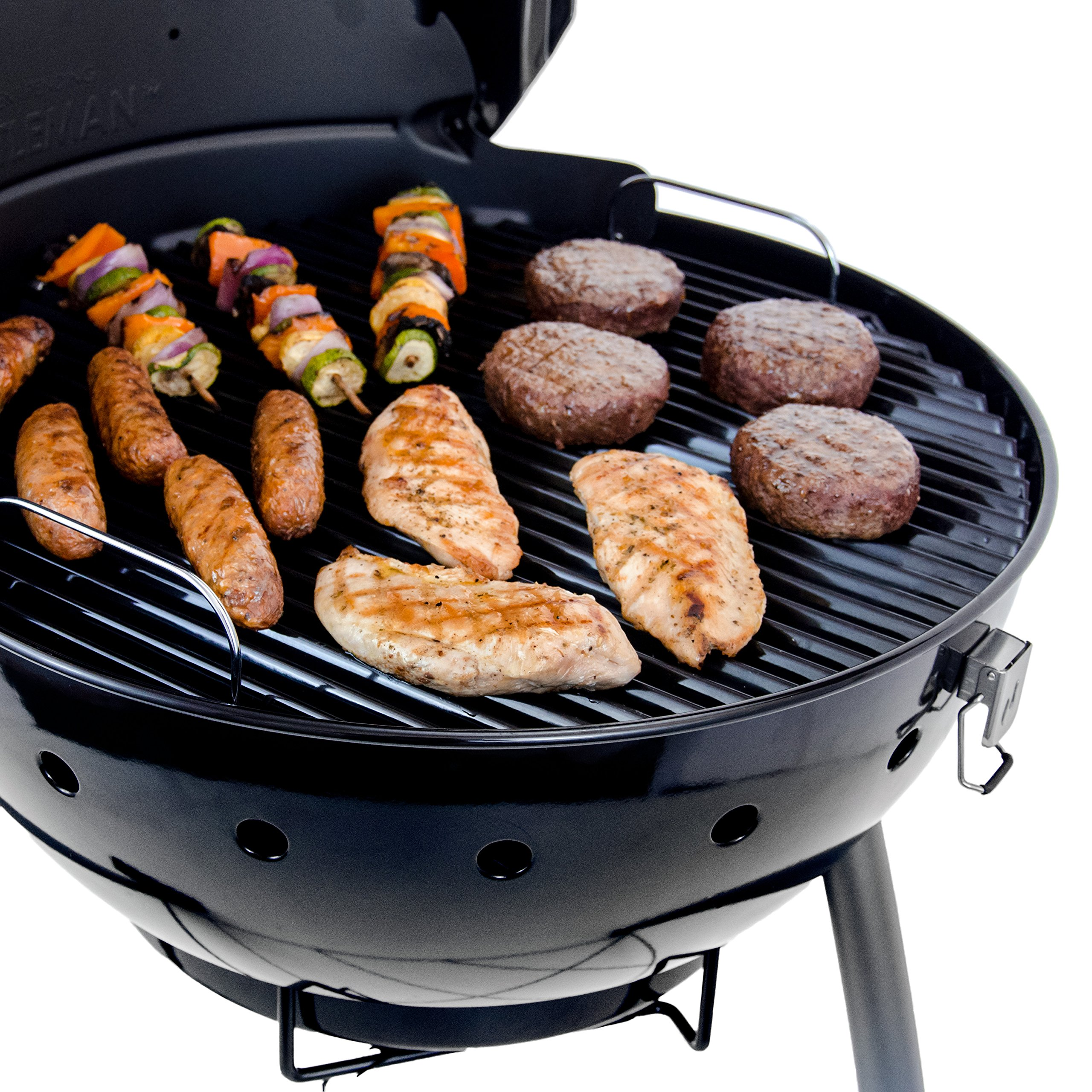 Char-Broil TRU-Infrared Kettleman Charcoal Grill, 22.5 Inch by Char-Broil (Image #4)