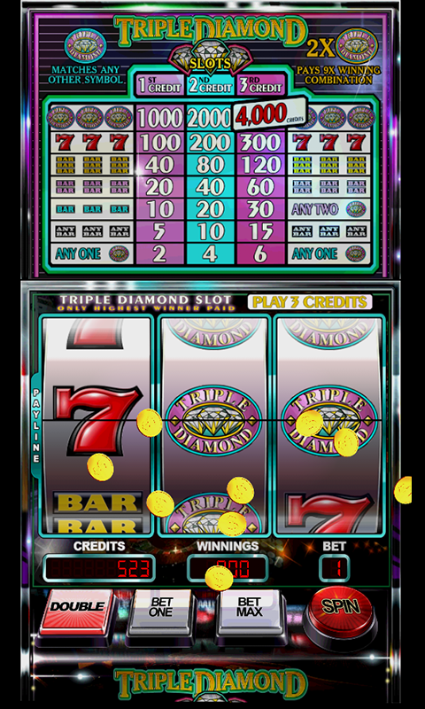 Amazon Com Slot Machine Triple Diamond Appstore For Android