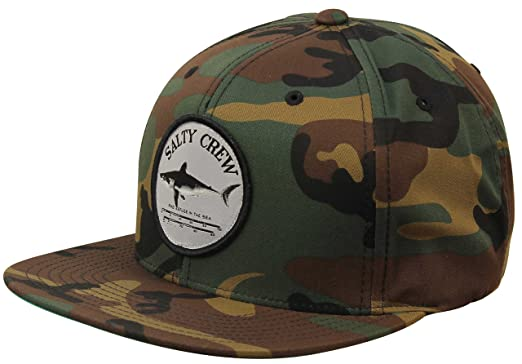 6735fcb012 Salty Crew Bruce Snapback Hat - Camo at Amazon Men's Clothing store: