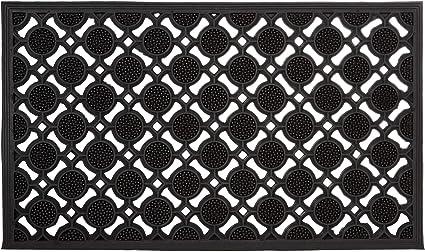 Türmatte Fußmatte Schmutzfangmatte Welcome   45cm*75cm   grau  schwarz