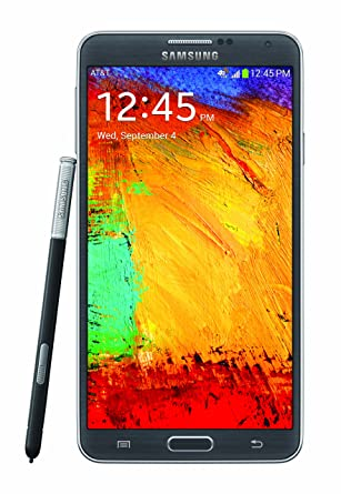 Amazon Samsung Galaxy Note 3 Black 32gb Att Cell Phones