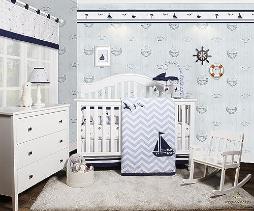 Nautical Crib Bedding Tktb