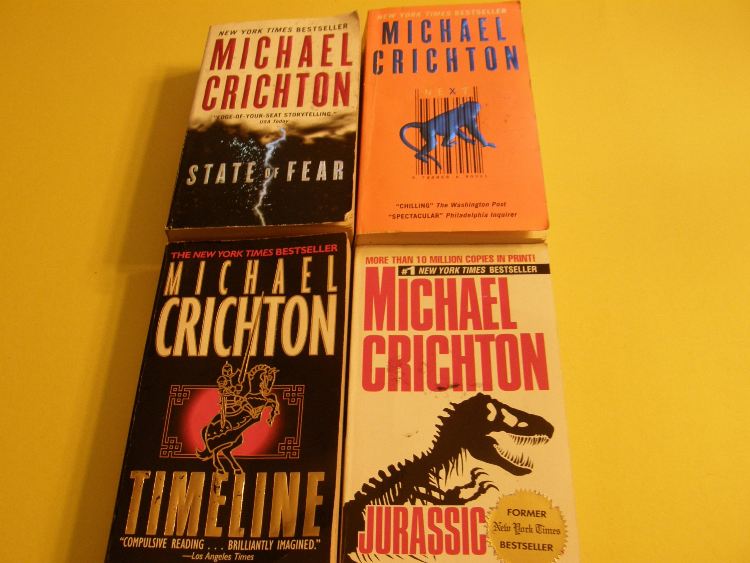 Michael Crichton climate
