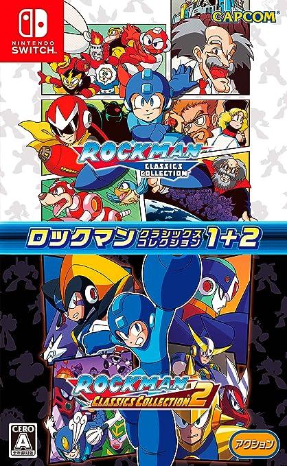 Capcom Rockman Classics Collection 1 +2 Megaman NINTENDO SWITCH ...