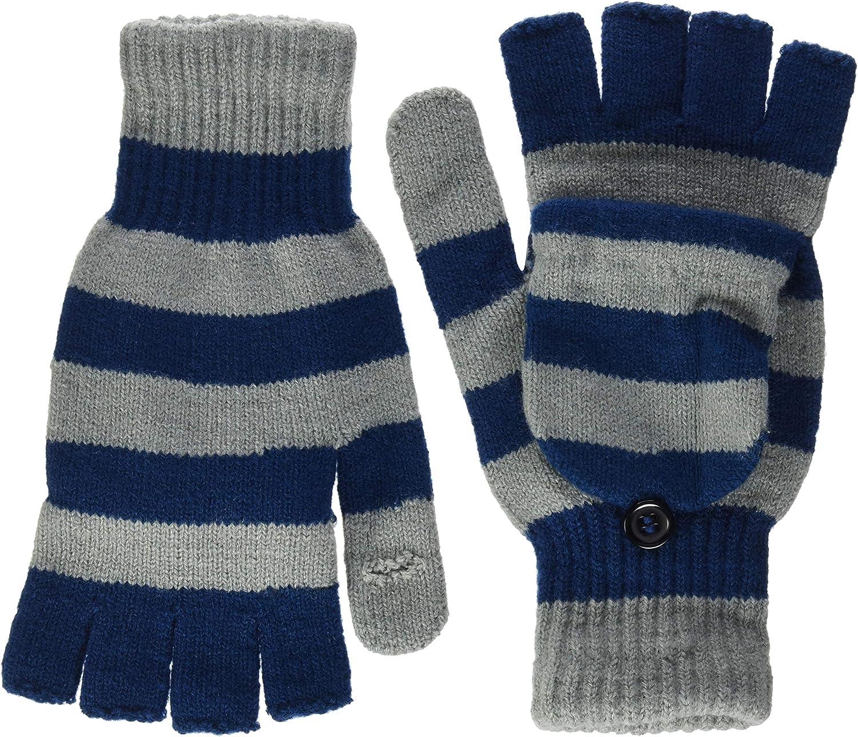 New York Giants Knit Flip Top Glove