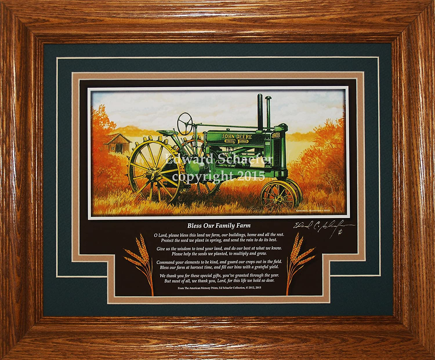 Amazon john deere model a unstyled 1934 1938 bo tractor amazon john deere model a unstyled 1934 1938 bo tractor pictures wall decor art gift for dad posters prints jeuxipadfo Images